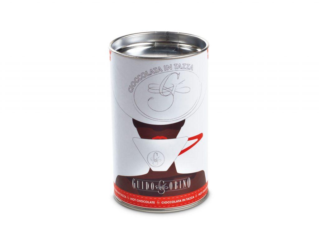 Powder for dark hot chocolate