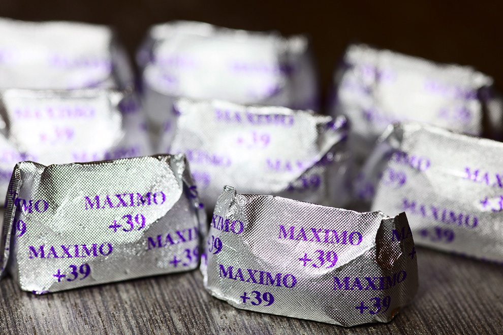 Maximo +39, best Gianduja ever