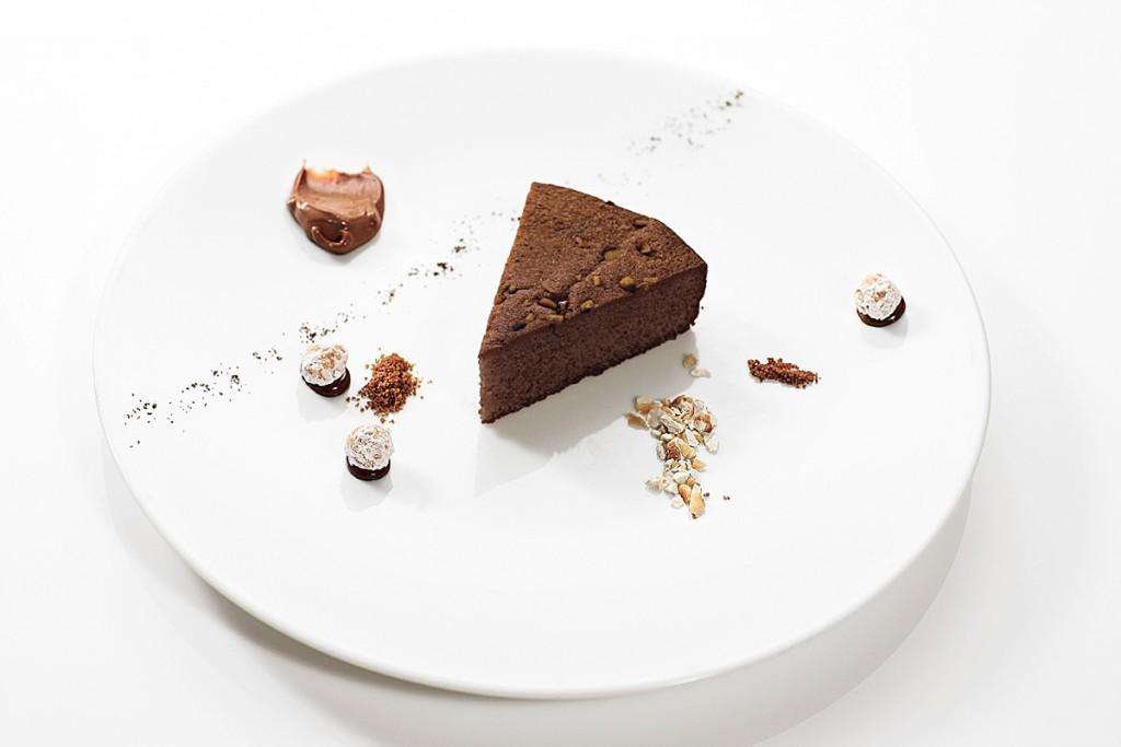 Torta al Cioccolato Guido Gobino - tipo Caprese