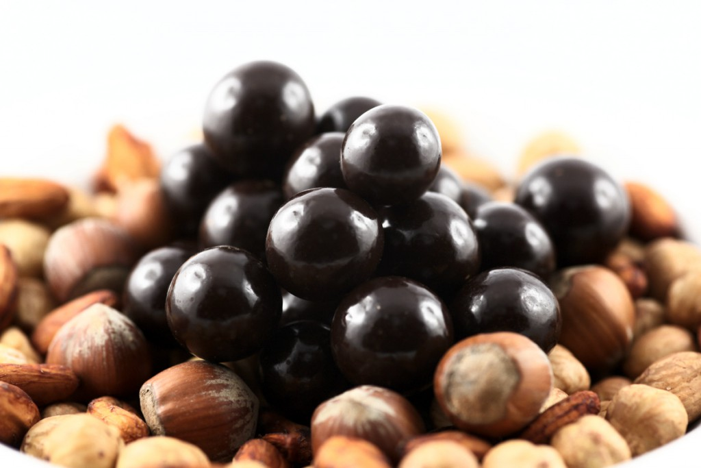 Chocolate covered Hazelnuts from Piedmont