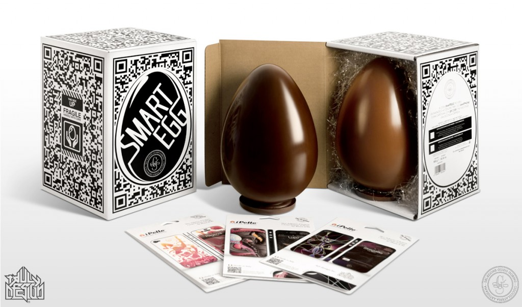 Can an Easter Egg be SMART? Yes, if it's the Guido Gobino Smart Egg