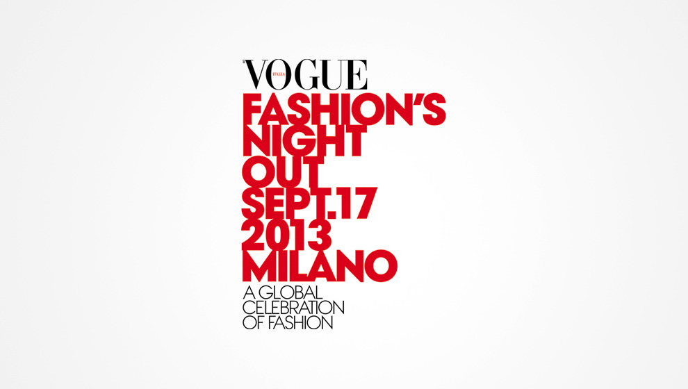 Vogue Fashion Night Out 2013