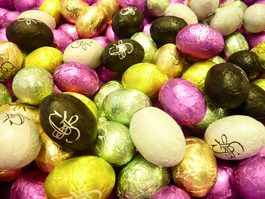 Easter is coming over…