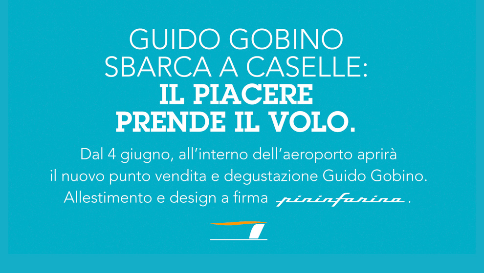 Gobino and Pininfarina join forces in the name of taste.