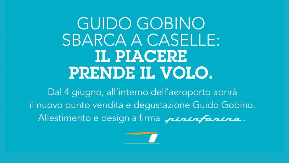 Gobino e Pininfarina. Due eccellenze torinesi unite nel segno del gusto.