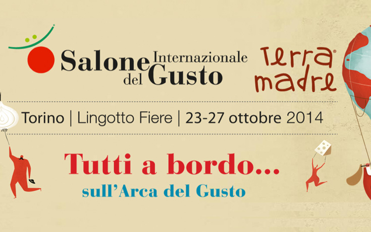 "See you at the ""Salone Del Gusto"""