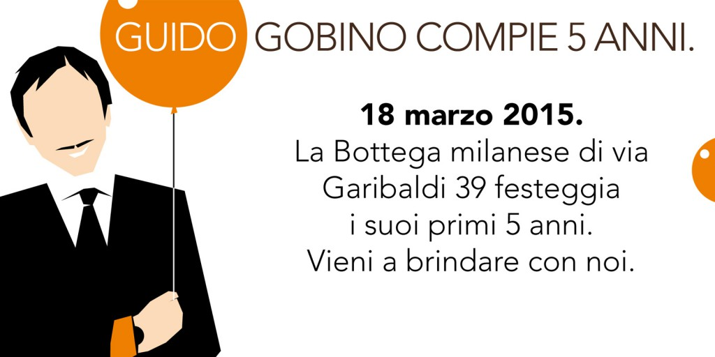 "Our Milan ""Bottega"" is celebrating its first 5 years"