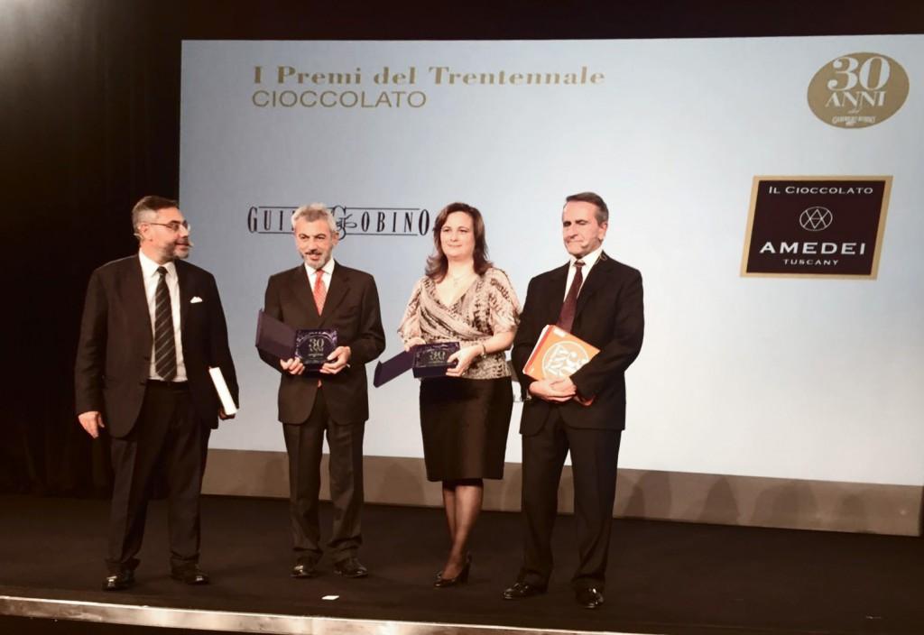 Abbiamo ricevuto il Premio Gambero Rosso per il Trentennale