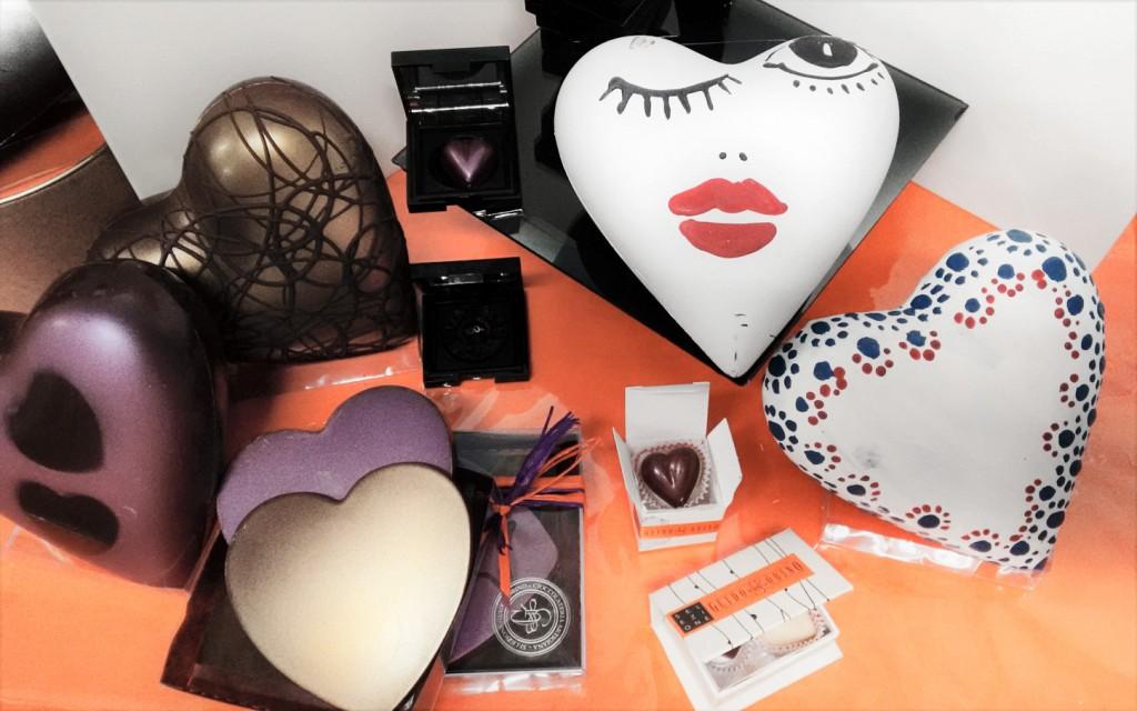 Per San Valentino, cosa c'è di meglio di un cuore di cioccolato?