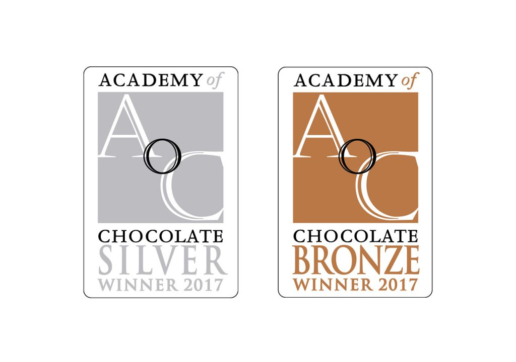 Our Chocolate got awarded by the Academy of Chocolate in London!
