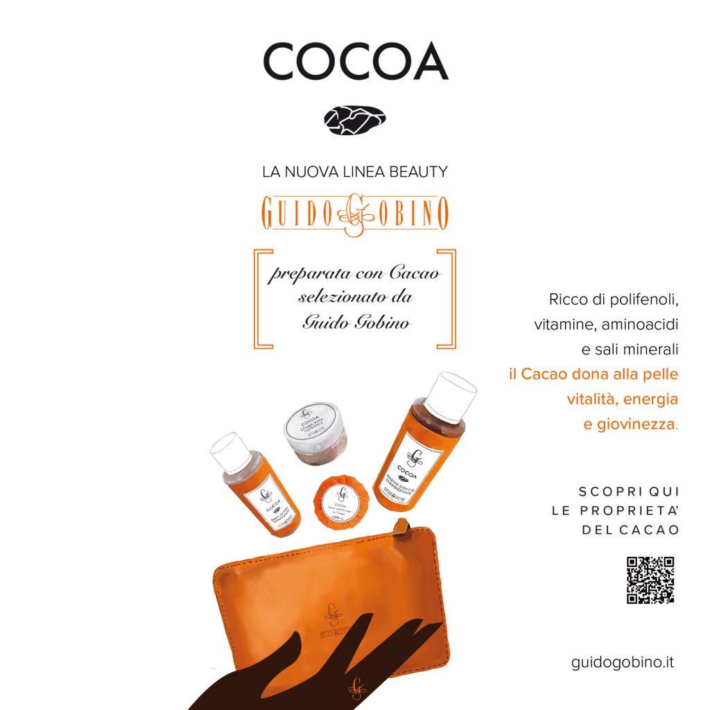 Già provato i cosmetici prodotti con il nostro cacao?